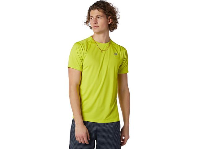 New Balance Accelerate Short Sleeve Men sulphur yellow